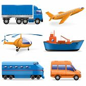 pic of helicopter  - Vector Transport Icons - JPG