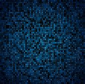 image of encoding  - Random symbols blocks encoded data screen - JPG