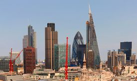 picture of willy  - City of London one of the leading centres of global finance.This view includes Tower 42 Gherkin,Willis Building,