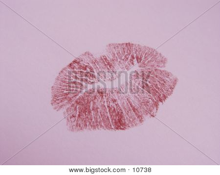 Pink Lips poster