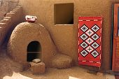 Taos Adobe Oven