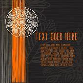 Постер, плакат: Cool stylish square friendly looking brand