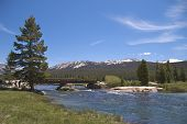 Bridge across Tuolumne River, Yosemite