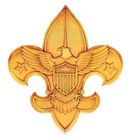 picture of boy scout  - boy scouts of america logo or emblem - JPG