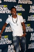 LOS ANGELES - 5 de junho: Trey Songz na sala de imprensa da MTV Movie Awards de 2011, no Gibson Ampitheatr