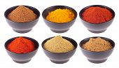 picture of garam masala  - collection of indian spices  - JPG