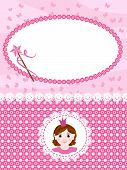 Invitation princess card