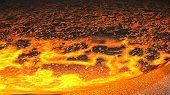Lava Flow (Render)
