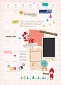 Beautiful Scrapbook Elements
