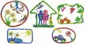 Постер, плакат: Моя жизнь дом семья автомобиль отдых питание Сад
