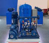 Industry Water Pump Module Set Package Skid poster