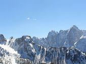Alpes en invierno