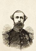 Porträt von Oskar Ii., König von Schweden. Illustration von Alwin Zschiesche, veröffentlicht auf