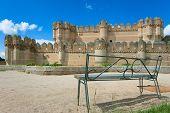 Castle Coca In Province Of Segovia poster
