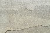 Texture Of Natural Stone With A Crack. Background Of Natural Stone Gray With A Split. Texture With D poster