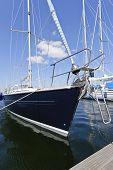 Yacht In Sport Harbor
