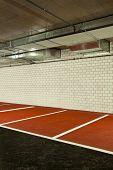 new underground parking, car park