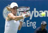 Petra Martic of Croatia Return Ball