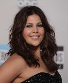 LOS ANGELES - NOV 20:  Hillary Scott (Lady Antebellum) arrives to the American Music Awards 2011  on