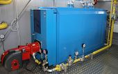 The Equipment Of Gas Boiler-House