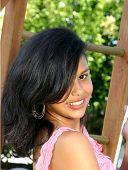 Cute Hispanic Teenage Girl