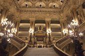 Palais Garnier, Opera de Paris, architectural details