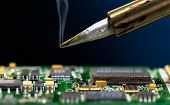 Solder and electronic circuit board