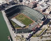 San Francisco, Ca, Usa-october 26:san Francisco Giants Stadium On October 26, 2011 At At&t Park San