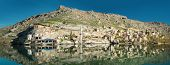 stock photo of euphrat  - Sunken village Halfeti in Gaziantep Turkey - JPG