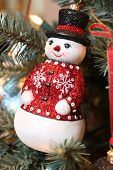 Snowman Christmas Tree Ornament