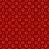 Vintage background abstract. Red pattern. Vector. Seamless Wallpaper texture.