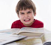 boy hates reading