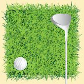 Achtergrond golfbaan
