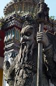 The Chinese Warrior Statue
