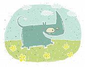 rhino vignette