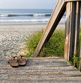 Sandals At The Beach