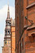 historische Gebäude in der Speicherstadt in hamburg