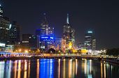 Yarra River, Melbourne City Skyline