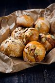 Freshly Baked Wholewheat Diet Breads