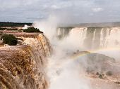 River Leading To Iguassu Falls