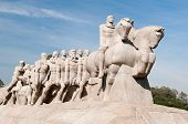 stock photo of bandeiras  - The Bandeiras Monument on June 19 - JPG