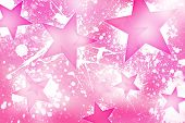 stock photo of pinky  - Pinky Stars Background - JPG