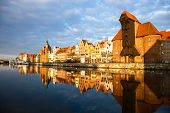 Gdansk In The Morning Light