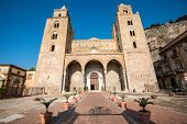 The cathedral of Cefalu, Sicily