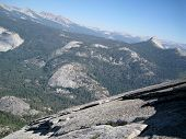 Magnificent Views From The Top Of Half Dome