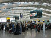 Check In Desks At Heathrow Terminal 5