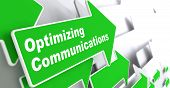 Optimizing Communications. Business Concept.
