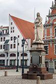 Statue Roland, Riga