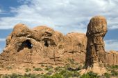 Arches National Park Pestle Formation