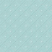 Teal And White Diamonds Tiles Pattern Repeat Background